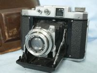 '    1940 Mamiya 6 Version I Cased -LOW-  ' Mamiya 6 Version I Vintage Folding 6X6 Rangefinder Camera c/w KOL Lens +Original Case -LOW SERIAL- £199.99